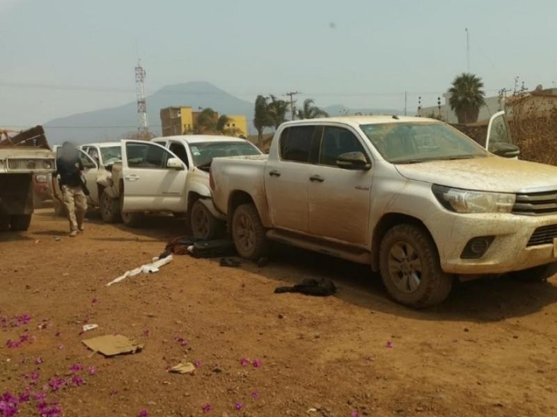 Detienen a un implicado en agresión a convoy en Tangancícuaro