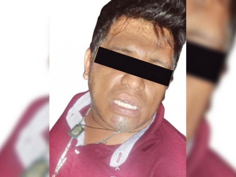 Detienen al presunto responsable del asesinato de joven en Cosoleacaque