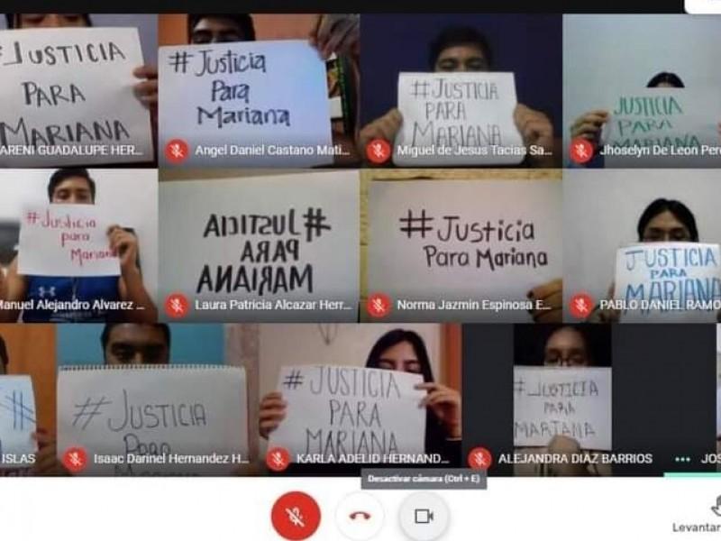 Detienen clases virtuales estudiantes Unach piden justicia para Mariana