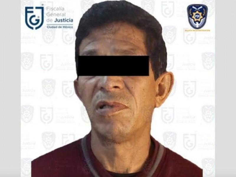 Detienen en CDMX a presunto violador serial