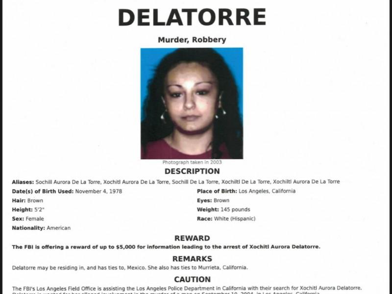 Detienen en Chiapas a mujer buscada por el FBI