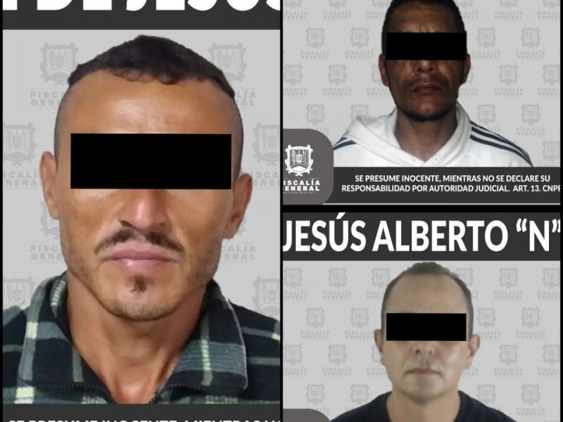 Detienen en Tepic a delincuentes por robo calificado