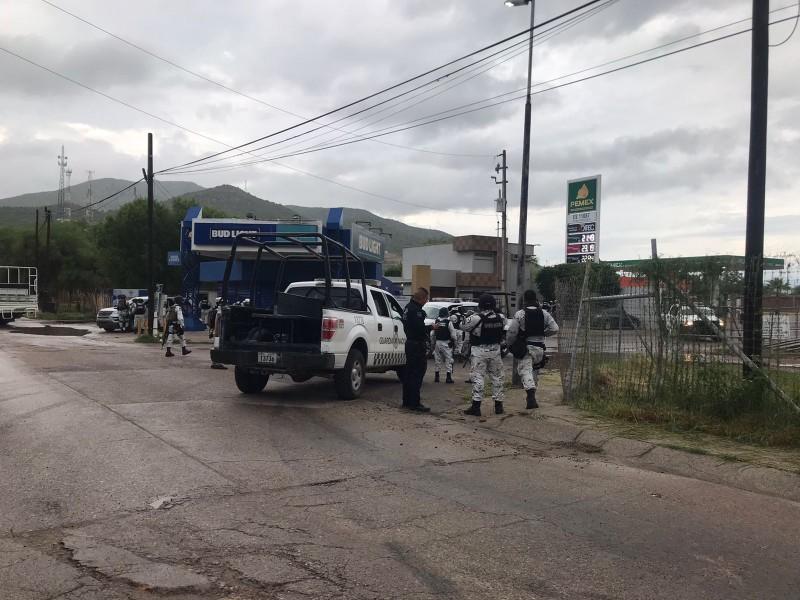 Detienen PESP, Guardia Nacional y Ejército a grupo armado