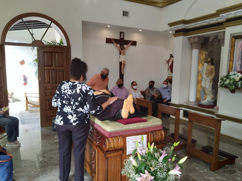 Devotos celebran a San Francisco Javier en Hermosillo