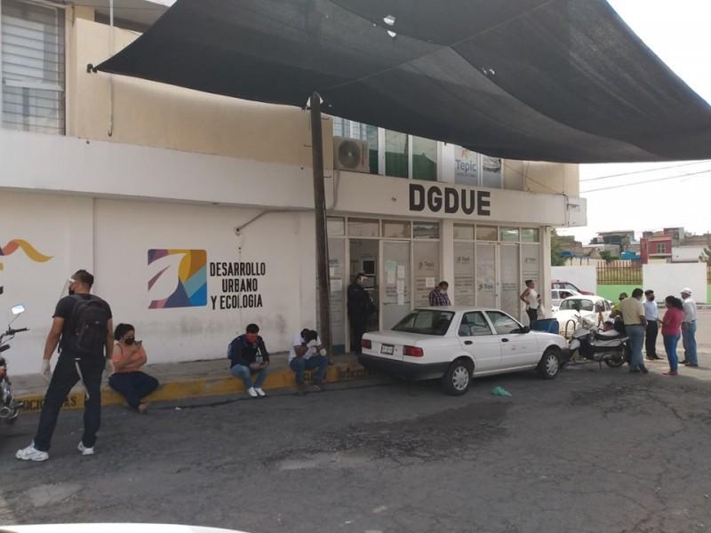 DGDUE expone a trabajadores al COVID-19