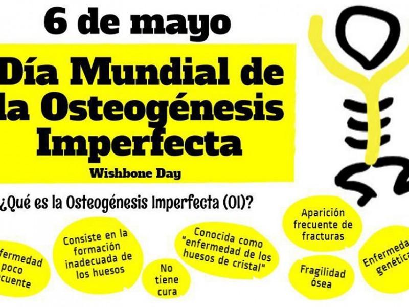 Día de la osteogénesis imperfecta o huesos de cristal