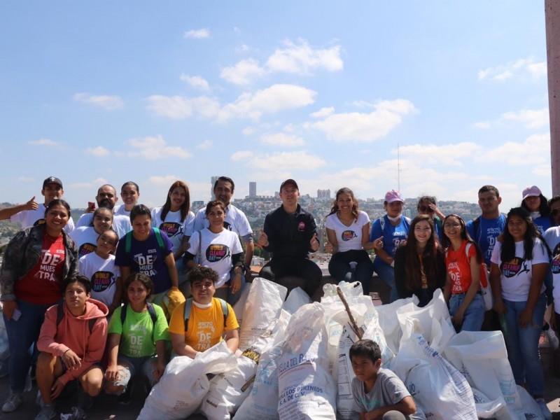 Día mundial de la limpieza en Querétaro