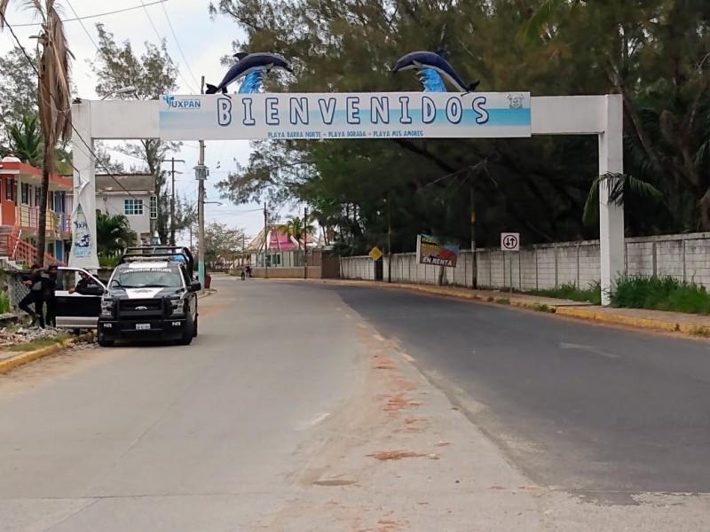 Día uno de restricción en playas de Tuxpan
