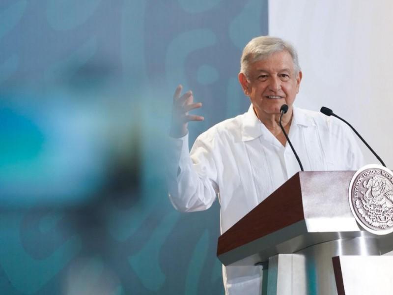 Diálogo favorable con EU: López Obrador