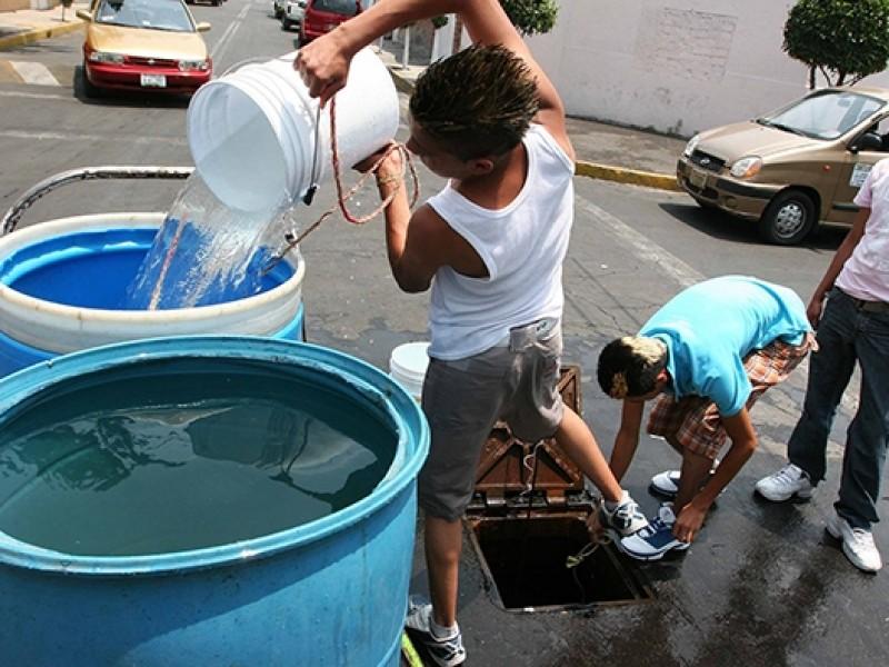 Días críticos por desabasto de agua en CDMX