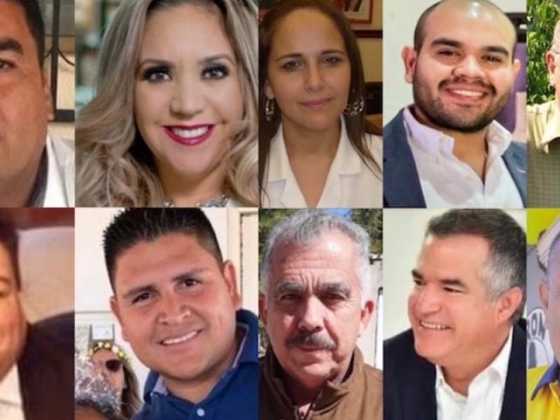 Diez candidatos buscarán la alcaldía de Guaymas