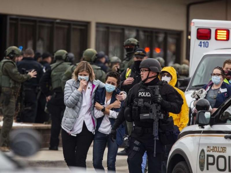Diez muertos por tiroteo en supermercado de Colorado, EU