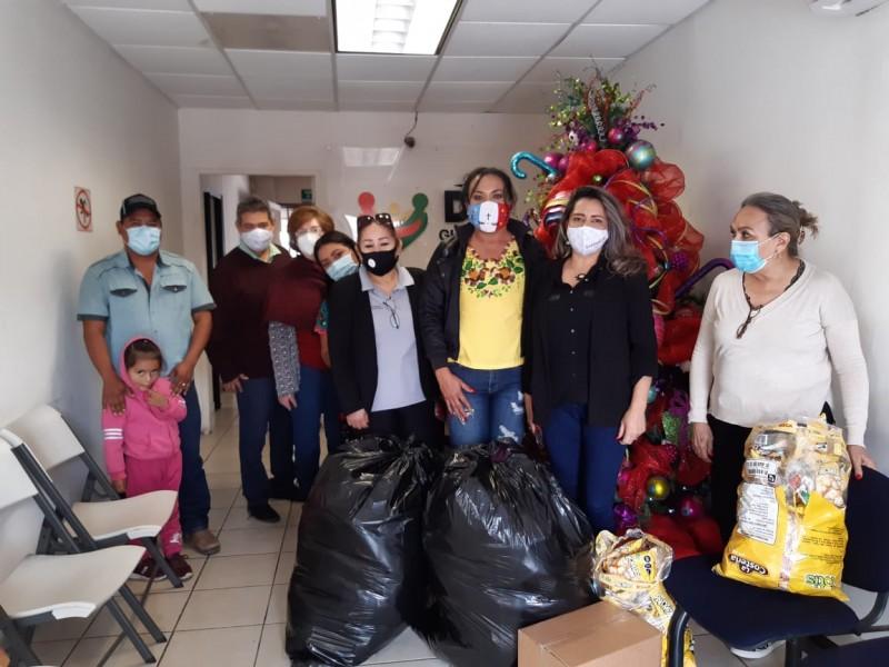 DIF Guaymas entrega apoyos para la comunidad de Pótam