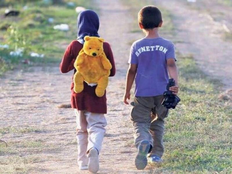 DIF omiso ante situación de menores migrantes