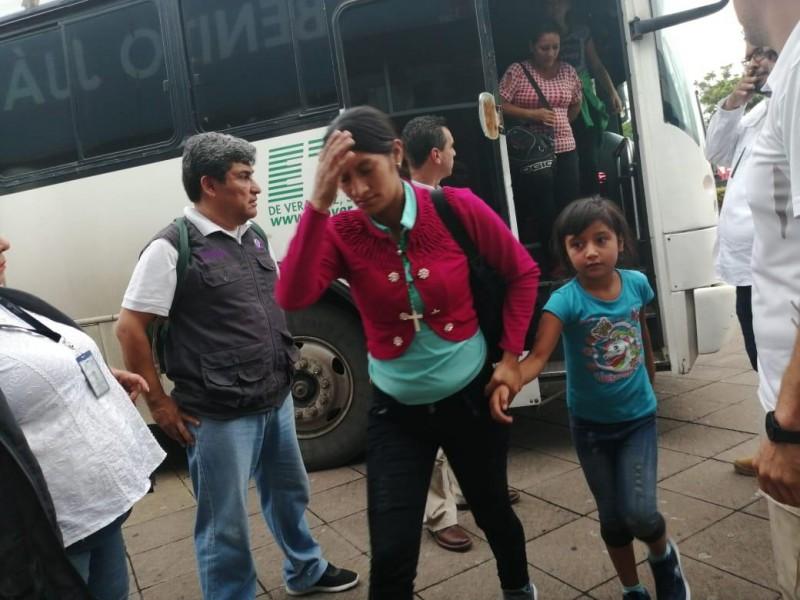 DIF Veracruz resguarda a 8 niñas migrantes