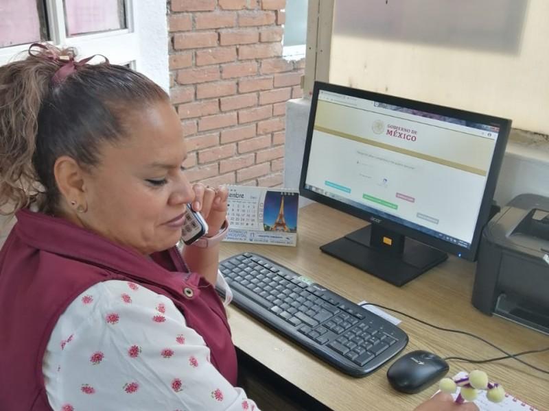 Dif y Ijum apoyan con registro para vacunación a adultosMayores