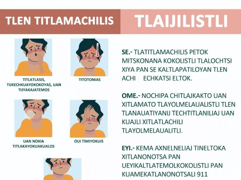 Difunden medidas de prevención en Náhuatl