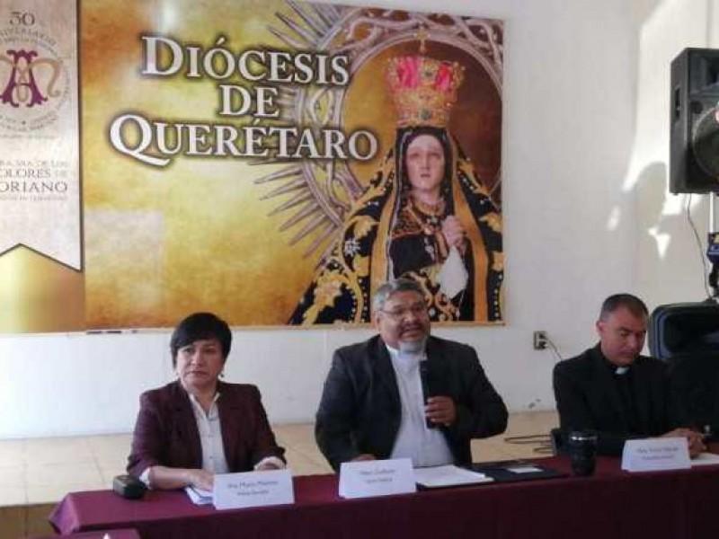 Diócesis de Querétaro implementa medidas para ceremonias especiales