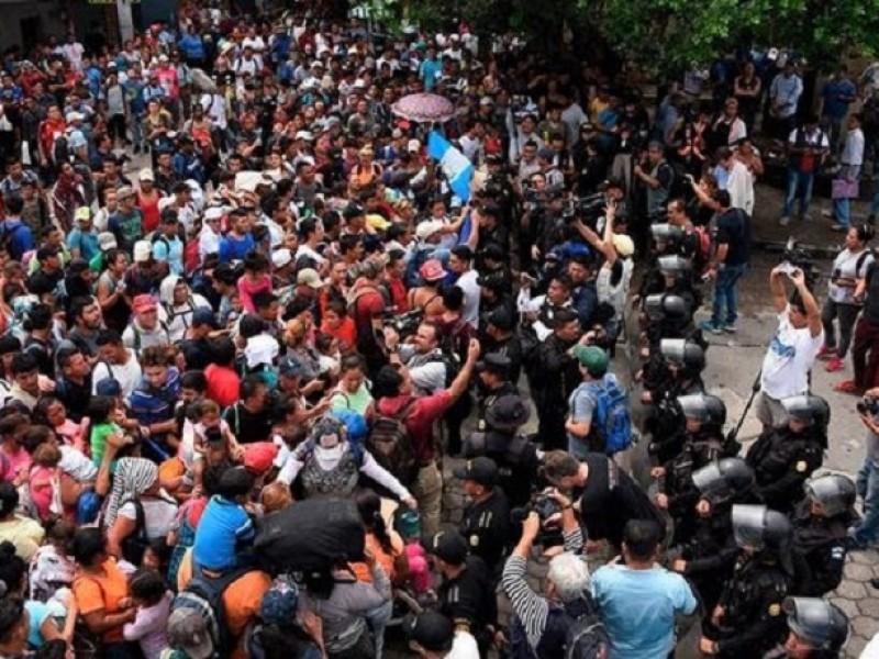 Diócesis llama a solidarizarse con caravana de migrantes