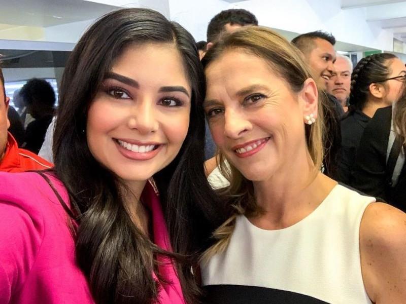 Diputada agradece apoyo a esposa del presidente