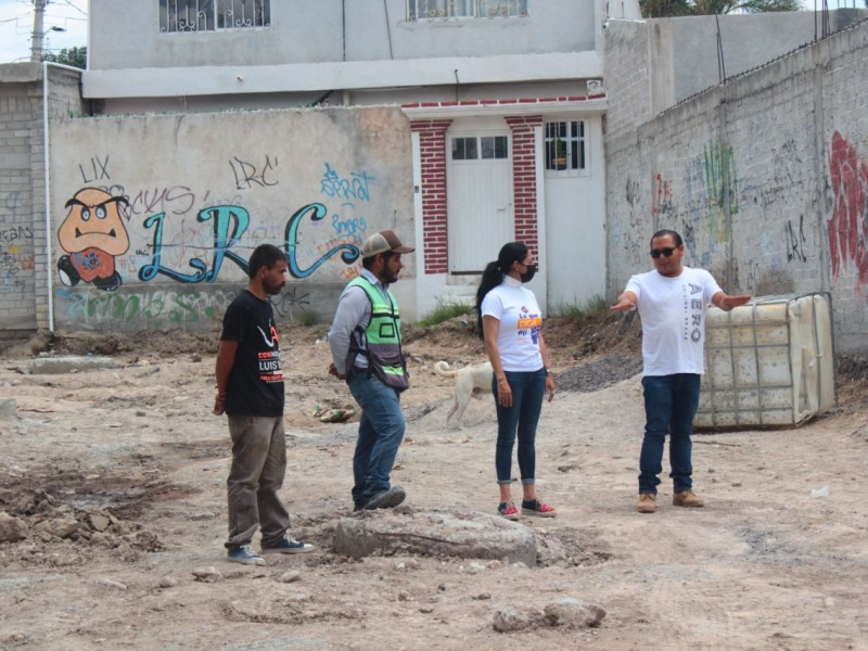 Diputada Connie Herrera refrenda compromiso en Laderas de San Pedro
