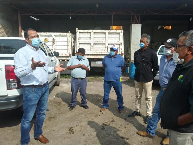 Diputado reconoce la importancia de la Seguridad Alimentaria