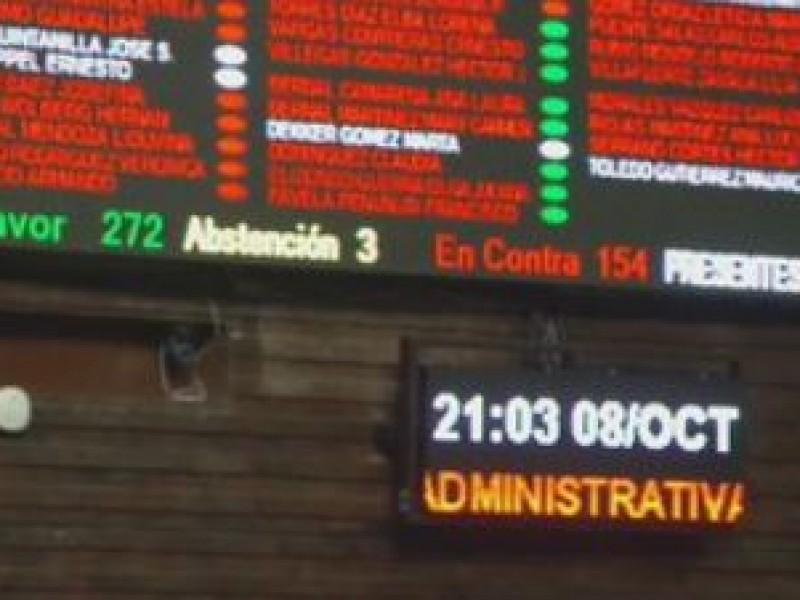 Diputados aprueban Ley de Austeridad