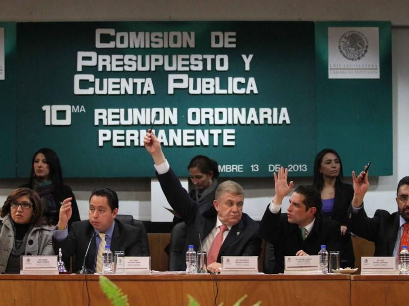 Diputados no aprobaron cuenta pública 2016