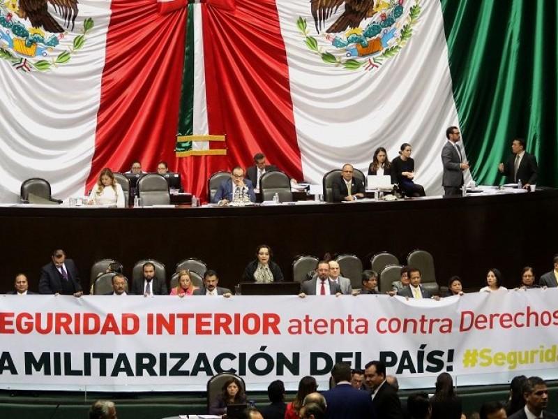 Diputados preparan análisis de tres iniciativas en seguridad