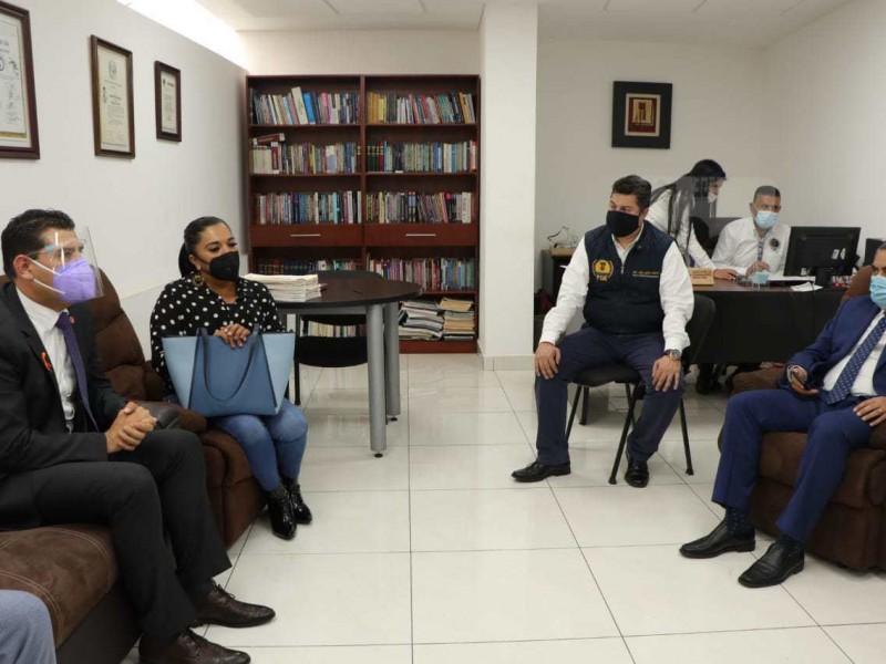 Diputados presentan denuncia ante FGE por agresiones
