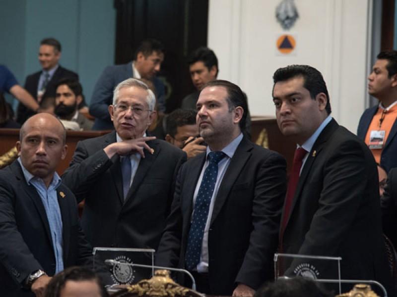 Diputados se quedan sin fuero en la CDMX