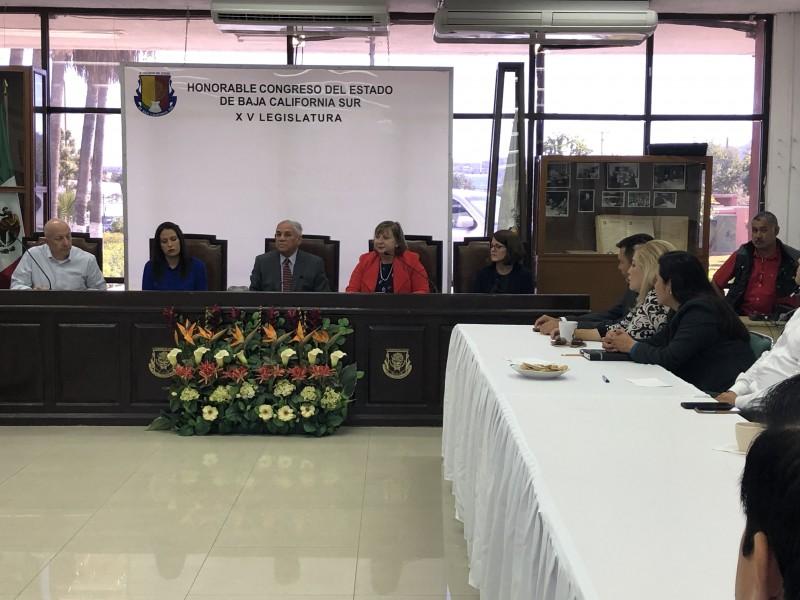 Diputados Sudcalifornianos se reúnen con titular del Consulado