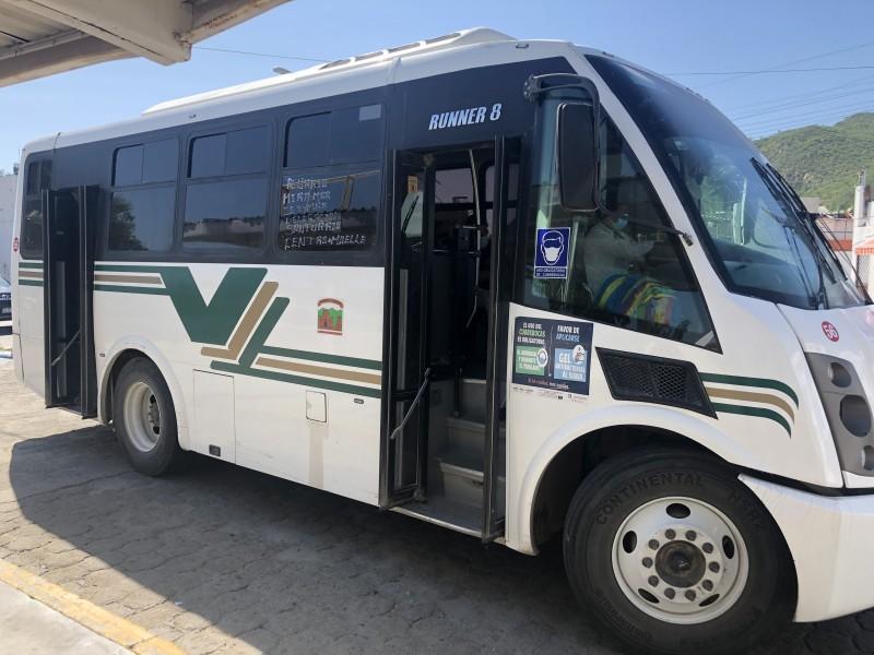 Dirección del transporte estatal realizará estudio de necesidad