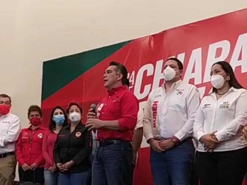 Dirigente nacional del PRI respalda fortalecimiento de candidaturas en Chiapas