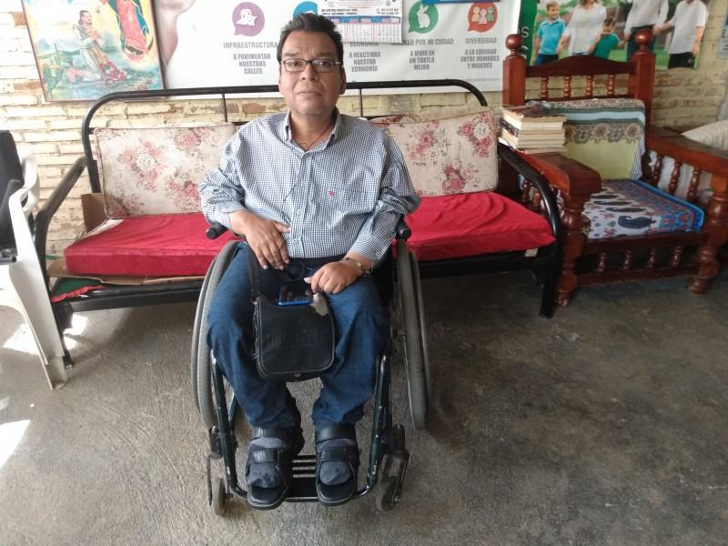 Discapacitados demandan trabajos bien remunerados