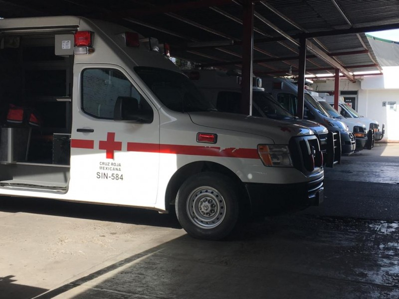 Disminuye la demanda de traslados por covid en Cruz Roja