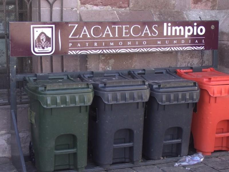 Disminuye recolección de basura en centro histórico