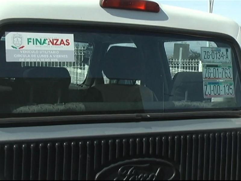 Piden a ciudadanía denunciar mal uso de vehiculos oficiales