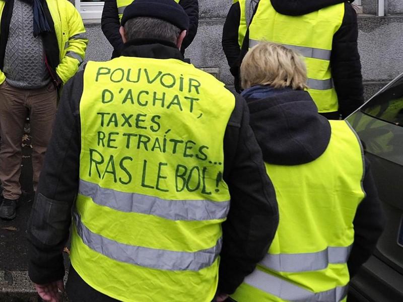 Disminuyen en Francia protesta de Chalecos Amarillos