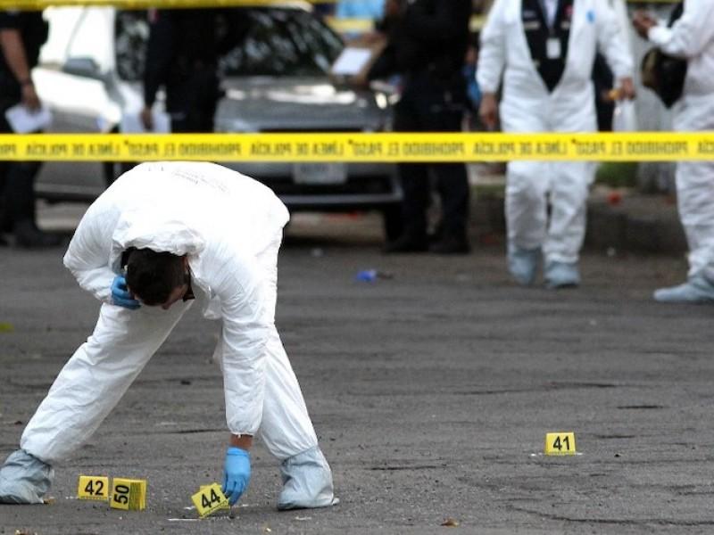 Por bala, 70% de homicidios: Inegi