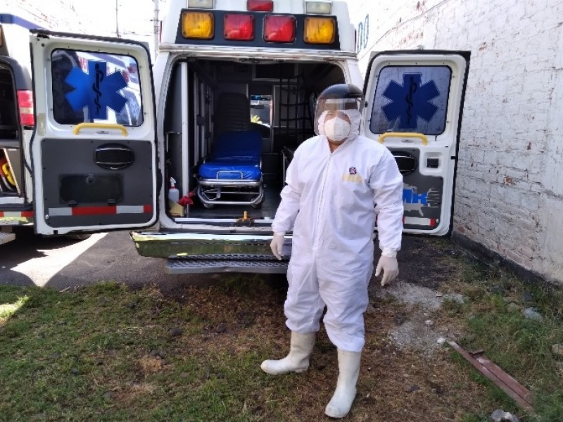 Disminuyen traslados de pacientes COVID por baja incidencia de casos