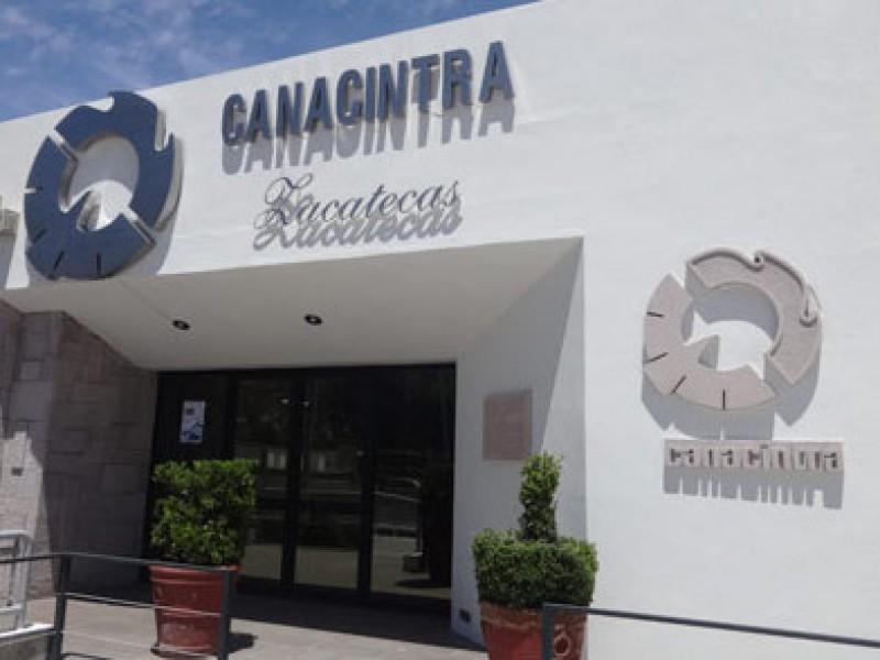 Disminuyó 10% número de afiliados en Canacintra durante 2020