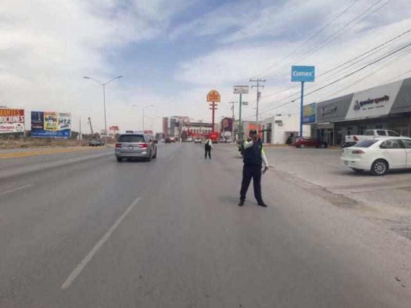 Disparan contra elementos de Tránsito y Vialidad de Torreón