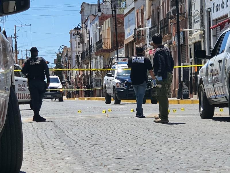 Disparan contra policías municipales en Guadalupe