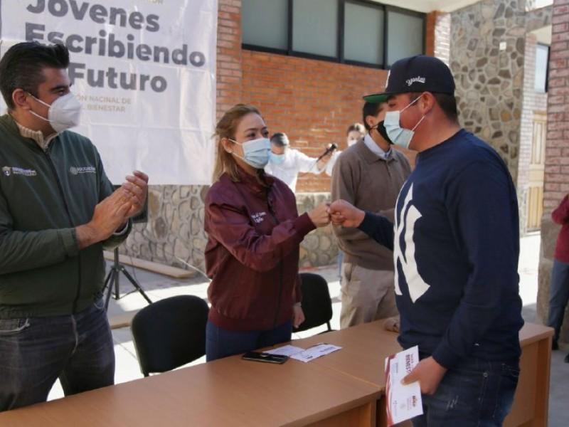 Dispersan apoyos de Universidades para el Bienestar