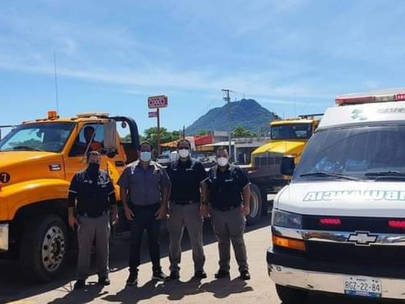 Distribuye Sistema Comando de Incidentes elementos en zona de desastre