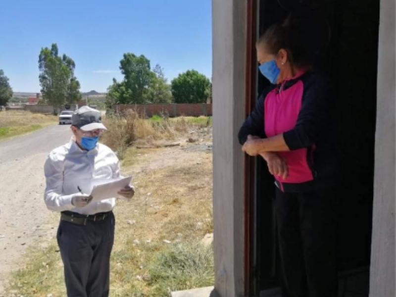 Distribuyen apoyos de empleo temporal en Zacatecas