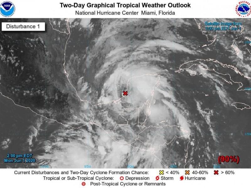 Disturbio 93L podría evolucionar a Ciclón Tropical