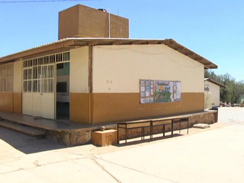 Primaria en Jerez realizaba clases presenciales
