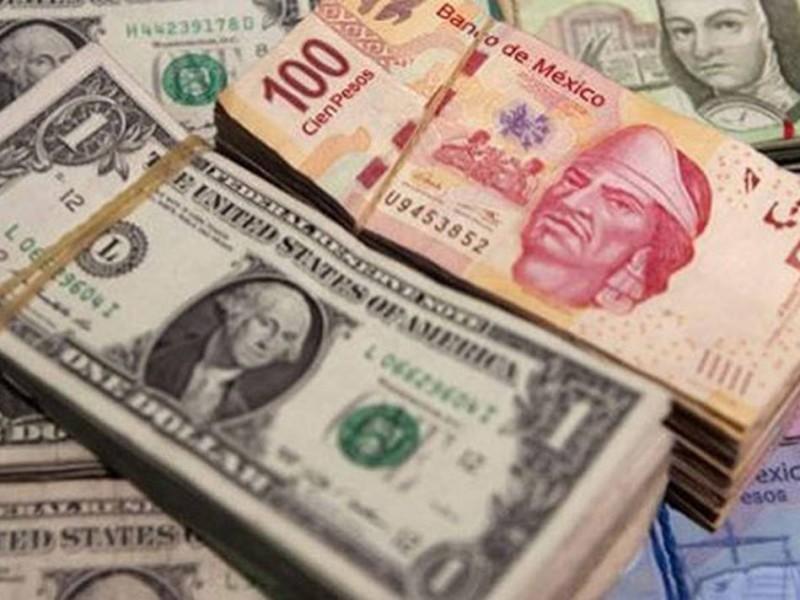 Dólar a la venta en 19.07 pesos